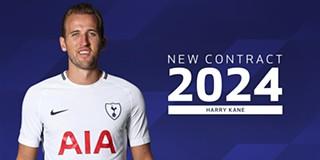 66459addba Harry Kane prolonga contrato com o Tottenham até 2024