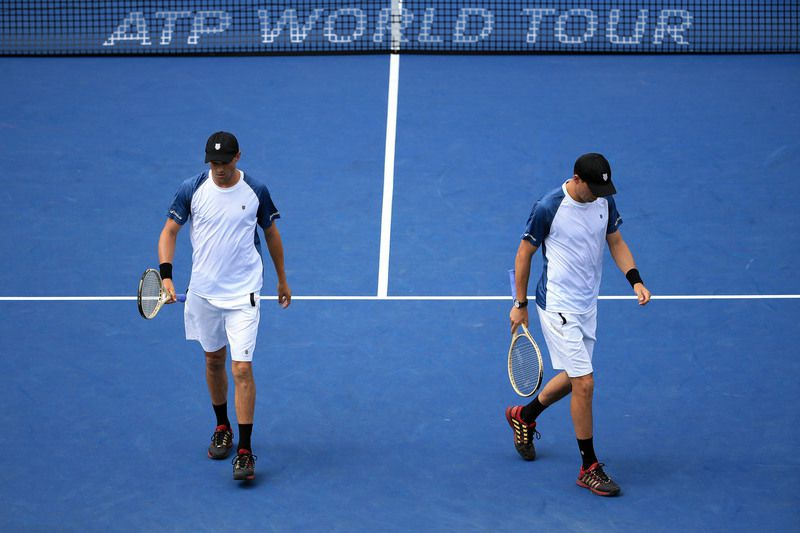 Bob e Mike Bryan • Vaughn Ridley / GETTY IMAGES NORTH AMERICA / AFP