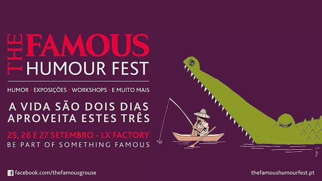 THE FAMOUS HUMOUR FEST - UMA CONVERSA PREVISÍVEL