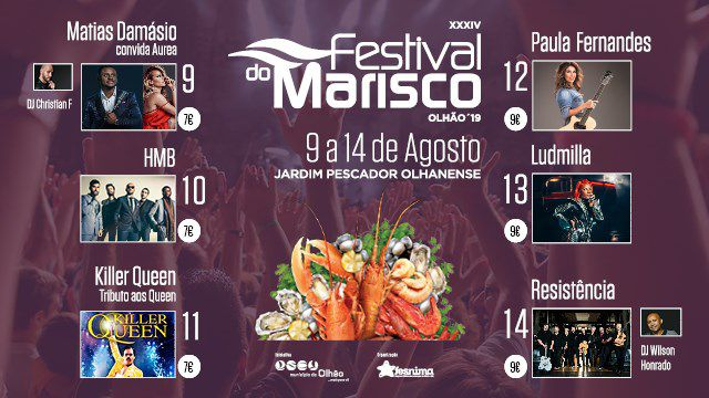 FESTIVAL DO MARISCO OLHÃO 2019