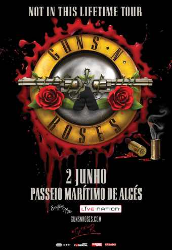Guns N\' Roses - Not In This Lifetime Tour