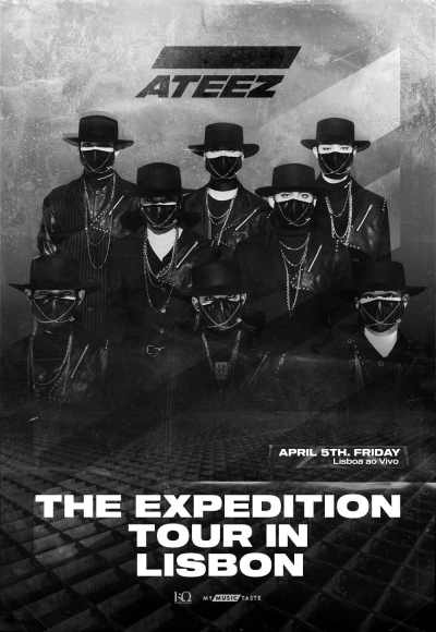 Ateez - The Expedition Tour In Lisbon