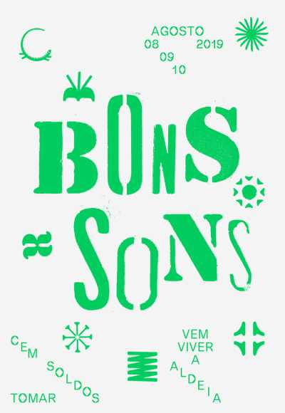 Festival Bons Sons 2019 - Passe 8 A 11 Agosto