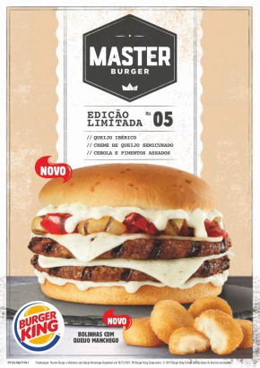 Master Burger - Folheto Burger King de 15 out 2019 a 18 nov 2019