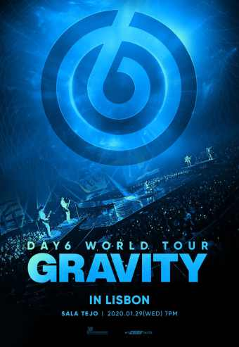 day6 World Tour Gravity In Lisbon
