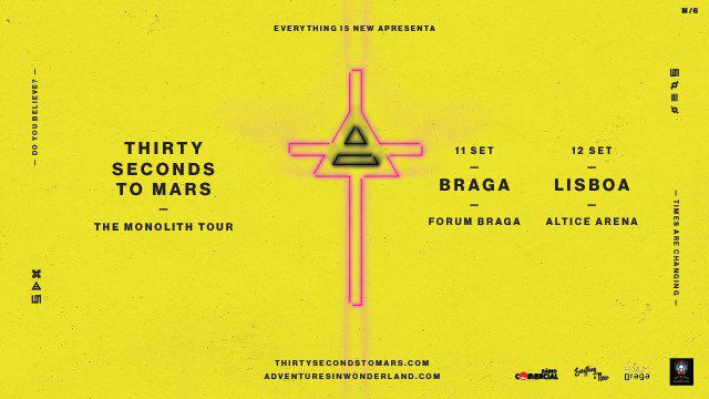 THIRTY SECONDS TO MARS - EUROPEAN TOUR 2018