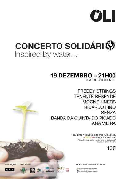 Concerto Solidário Oli Inspired By Water