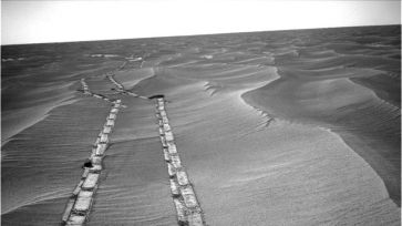 Descobertas provas de grandes reservas de água no subsolo de Marte