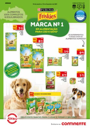Pet Care - Folheto Continente de 19 jan 2021 a 15 fev 2021