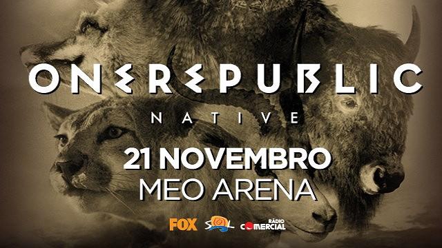 ONEREPUBLIC - NATIVE WORLD TOUR