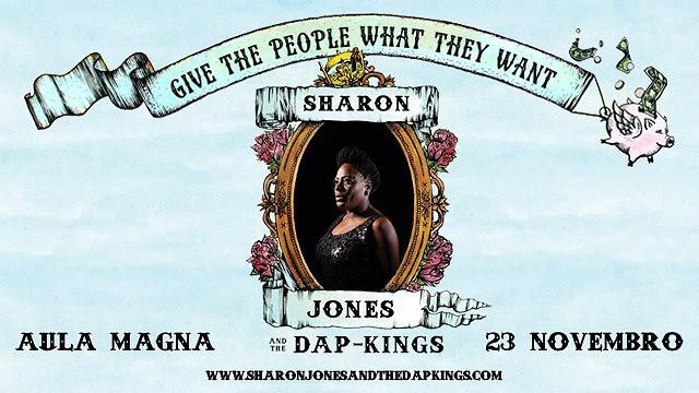SHARON JONES & THE DAPS KINGS