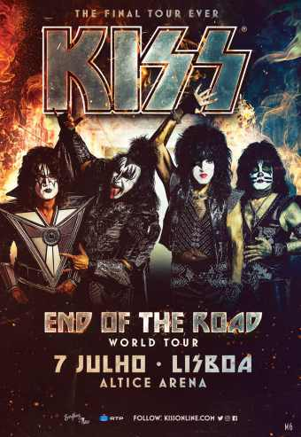 Kiss - End Of The World Tour