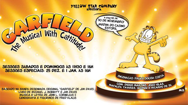 GARFIELD - O MUSICAL