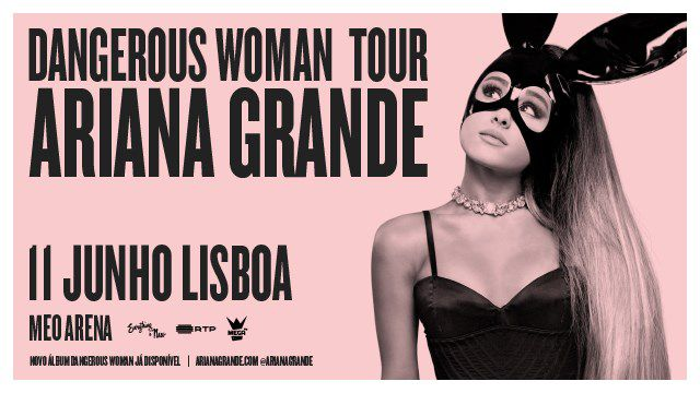 ARIANA GRANDE - DANGEROUS WOMAN TOUR - VIP