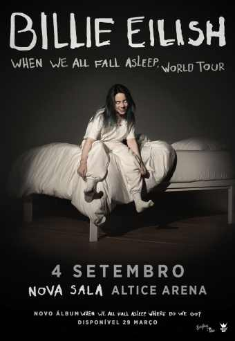 Billie Eilish - When We All Fall Asleep World Tour