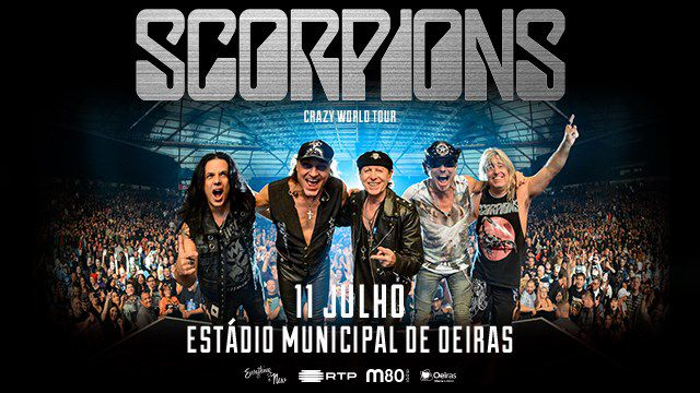 SCORPIONS - CRAZY WORLD TOUR - THE LEGENDS OF ROCK