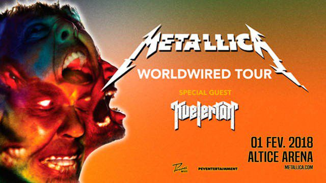 METALLICA - WORLDWIRED TOUR 360º