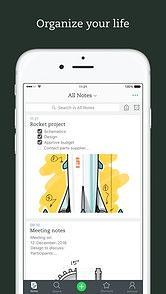 Evernote para iOS