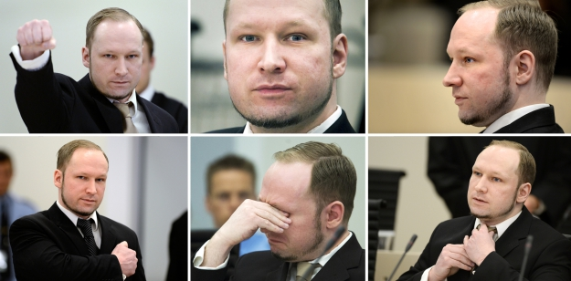 As faces de Breivik