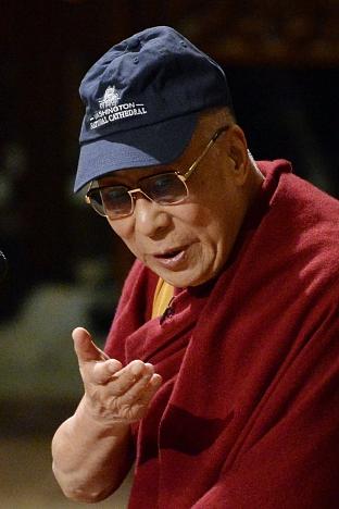 Dalai Lama... cool