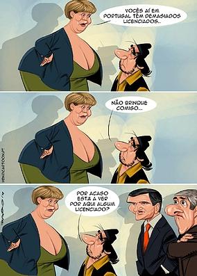 A miopia de Merkel