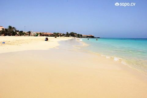 A praia de Santa Maria