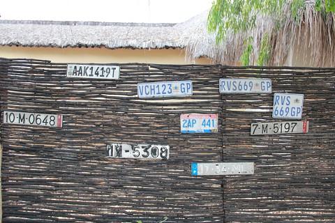 À chegada ao Villas do Índico, encontra esta recepção (SAPO MZ/ Eliana Silva)
