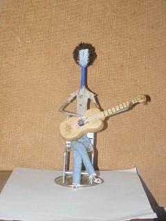 Arte com escova de dentes - Tocatina