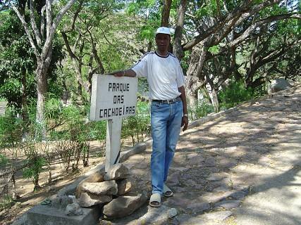 Parque das Cachoeiras em Angola