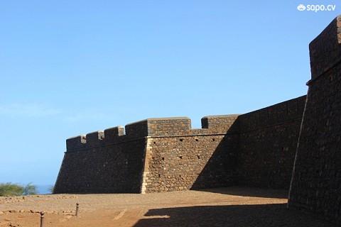 Fortaleza Real de São Filipe vista de fora