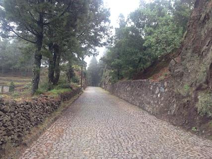 Zona de Corda, estrada antiga - Santo Antão