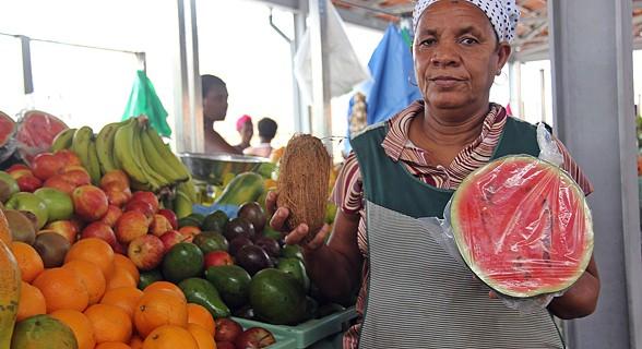 Vendeira de fruta