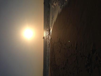 O pôr do sol é um dos momentos mais bonitos da Ponta de Santa Maria.