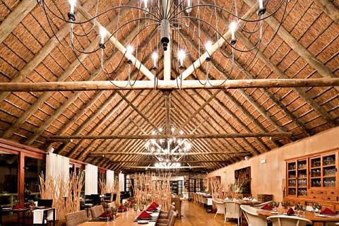 Restaurante do Pululukwa Resort
