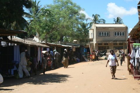 Mercado do Bairro dos Pescadores - Pemba