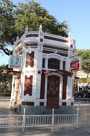 Quiosque,edifício da época colonial