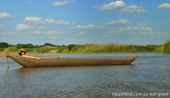 Traditioanal canoe