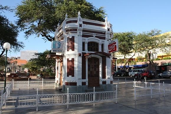 Quiosque, edifício época colonial