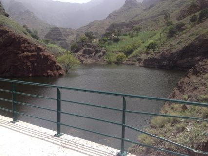 Barragem de Canto Cagarra - Santo Antão