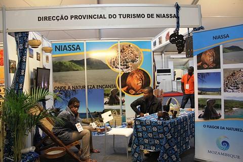 A província de Niassa em destaque na Feira do Turismo . SAPO MZ/Eliana Silva