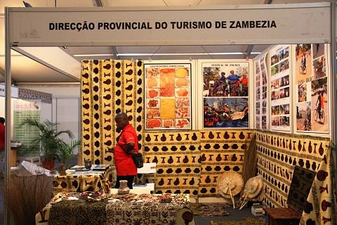 A província de Zambézia em destaque na Feira do Turismo . SAPO MZ/Eliana Silva
