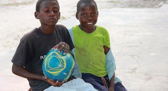 Crianças da ilha do Ibo