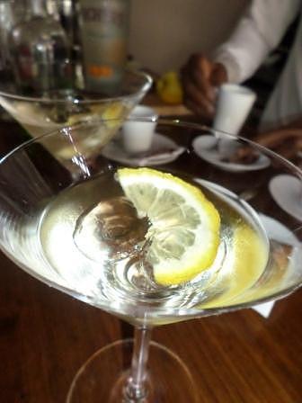 Um dos muitos cocktails
