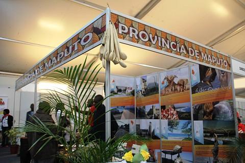 A província de Maputo em destaque na Feira do Turismo . SAPO MZ/Eliana Silva