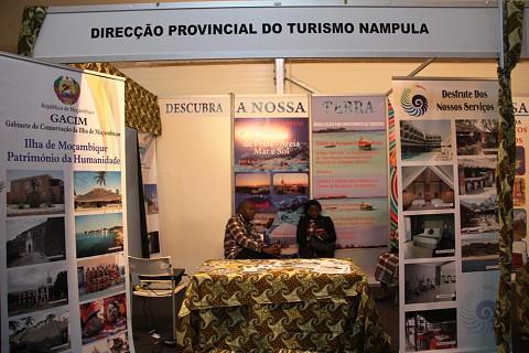 A província de Nampula em destaque na Feira do Turismo . SAPO MZ/Eliana Silva