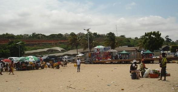 Embarcadouro para a ilha do Mussulo