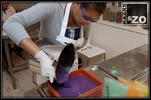 Produção de sabão