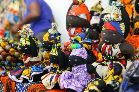 O artesanato é uma das qualidades moçambicanas. SAPO MZ/ Eliana Silva