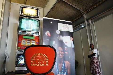 O Casino Polana também marcou presença. SAPO MZ/ Eliana Silva