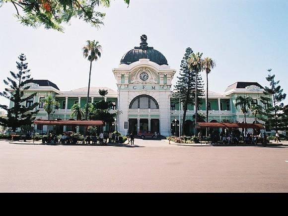 A mítica estação de Caminhos de Ferro de Maputo